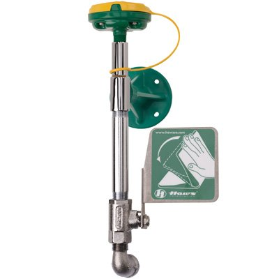 Haws® Wall-Mounted Eye/Face Wash Unit 7324