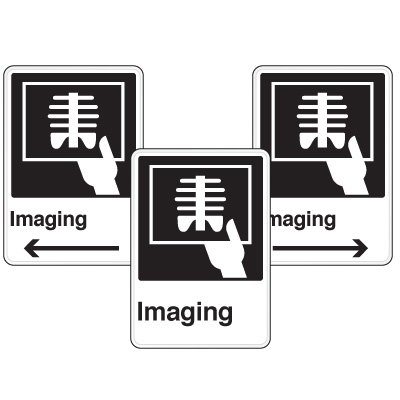 Health Care Facility Wayfinding Signs - Imaging