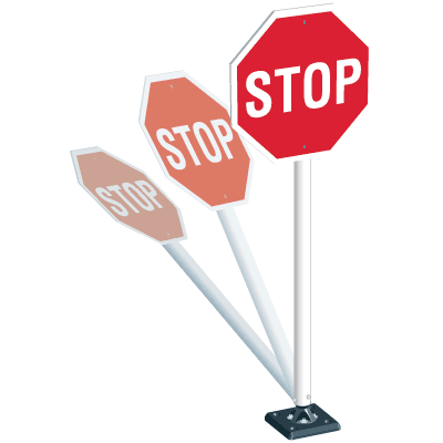 Flexible Stop Sign System - Stop