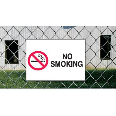 Heavy Duty Outdoor No Smoking Signs - No Smoking