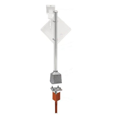 Heavy Duty Pole Packages with V-Loc® Breakaway Anchor
