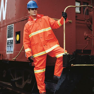 Safety Today High Visibility Rain Suit