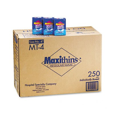 Hospital Specialty Co. #4 Maxithins® Pads HOSMT4