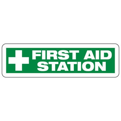 First Aid Station (Symbol) - Industrial First Aid Signs