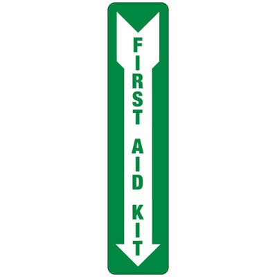 First Aid Kit (Arrow Down) - Industrial First Aid Signs