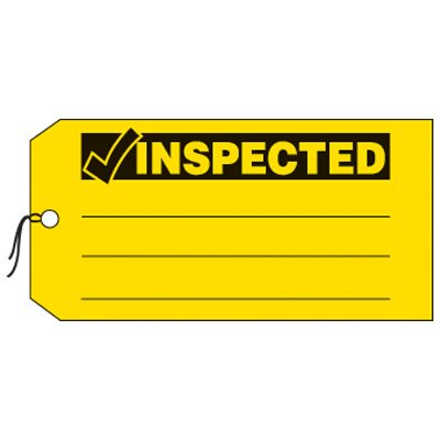 Inspected - Production Status Tags