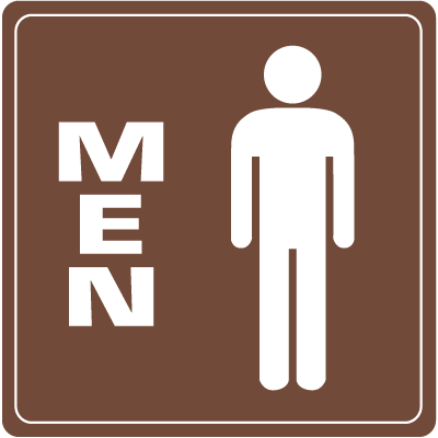 Men Interior Signs