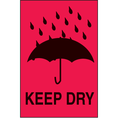 International Shipping Labels-  Keep Dry
