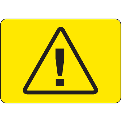 International Symbols Signs - Danger