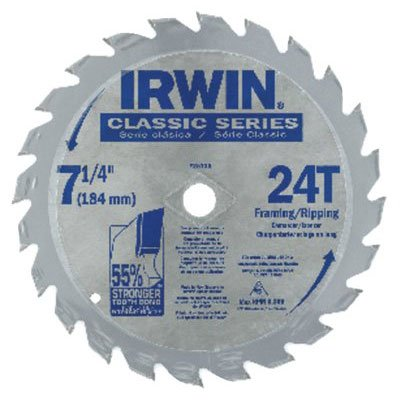 Irwin® - Carbide-Tipped Circular Saw Blades 25130