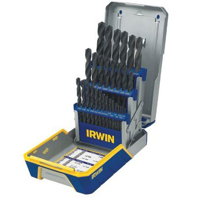 Irwin® - Heavy-Duty HSS Drill Bit Sets 3018004