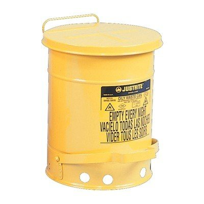 Justrite Oily Waste Safety Can