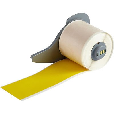 Brady M71C-2000-472-YL BMP71 Label - Yellow
