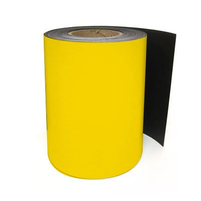 LabelTac® LT101M Magnetic Printer Labels - Yellow