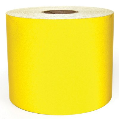 LabelTac® LT101RF Reflective Printer Labels - Yellow