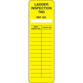 Laddertag Ladder Safety Management System Inserts