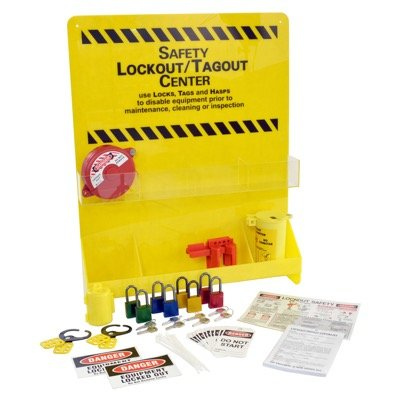 Large Lockout Center - Yellow