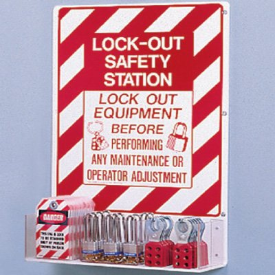 Brady® Unfilled Lockout Station