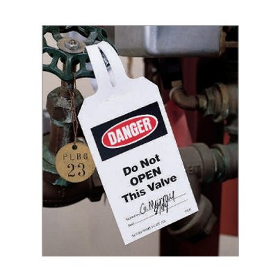Lock-On Safety Tags - Warning Header Only