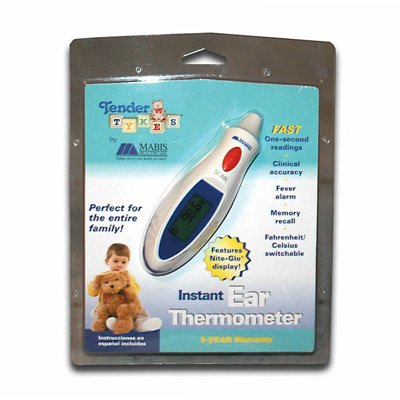 MABIS® TenderTemp® One-Second Ear Thermometer
