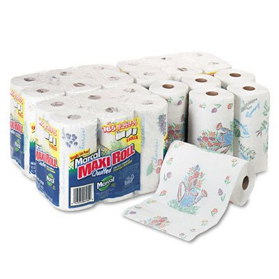 Marcal® Small Steps™ 100&37; Premium Recycled™ Perforated Maxi Roll Towels 6181
