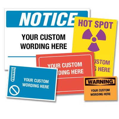 Custom Design Vinyl Labels