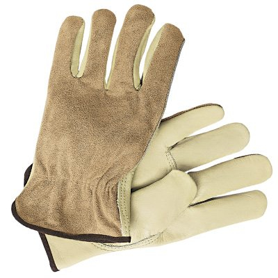 MCR Memphis® Split Leather Back Drivers Gloves