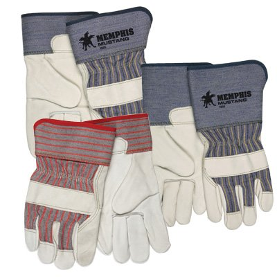 MCR Memphis® Mustang® Premium Grain Leather Palm Gloves