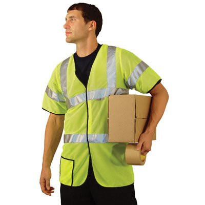 OccuNomix Premium Mesh Dual Stripe ANSI Class 3 Safety Vests