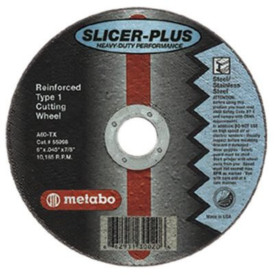 "Metabo - ""SLICER-PLUS"" High Performance Cutting Wheels 55998"