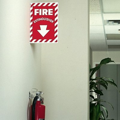 Fire Extinguisher - 2-Way Fire Extinguisher Signs