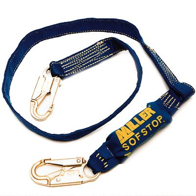Miller® Arc-Rated Shock-Absorbing Lanyards 913K-Z7/6FTE
