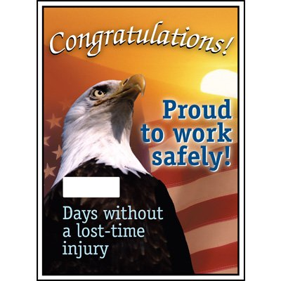 Motivational Safety Scoreboards - Congratulations