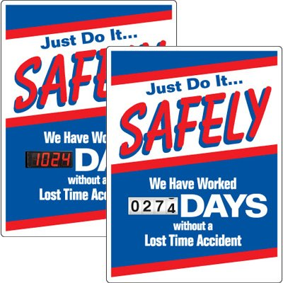 Motivational Safety Scoreboards - Just Do It Safely