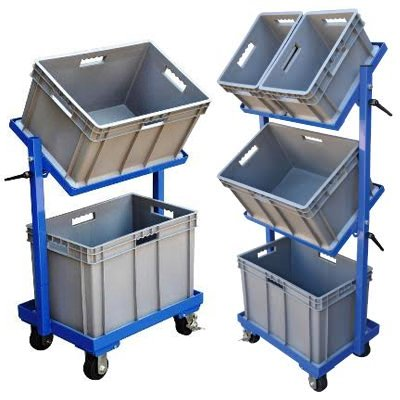 Multi-Tier Stock Cart
