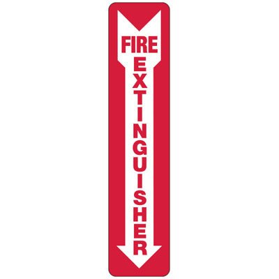N-1 Fire Extinguisher Arrow - Aluminum