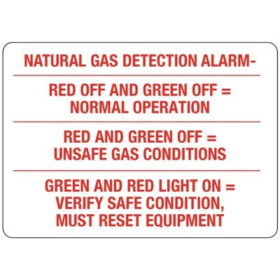 N-27 Natural Gas Detection Alarm - Aluminum