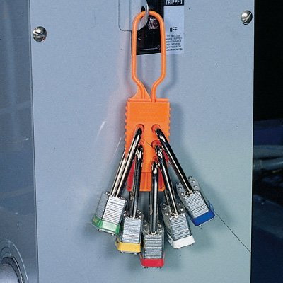 Brady Nylon Nonconductive Lockout Hasps - 1,000 Ibs Rating (99668)