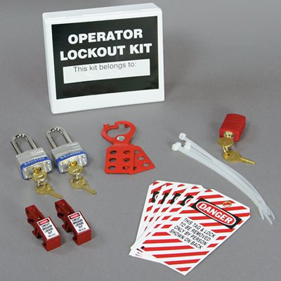One-Person Electrical Lockout Kit