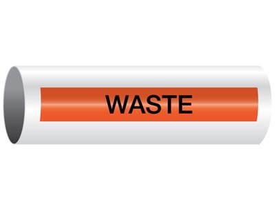 Waste - Opti-Code® Pipe Markers
