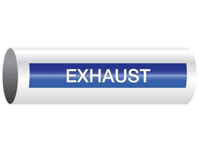 Exhaust - Opti-Code® Pipe Markers