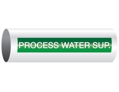 Process Water Supply - Opti-Code® Pipe Markers