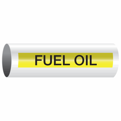 Opti-Code™ Self-Adhesive Pipe Markers - Fuel Oil