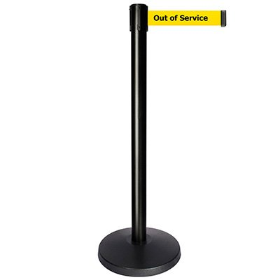 Out Of Service - Queue way® Plus Stanchion