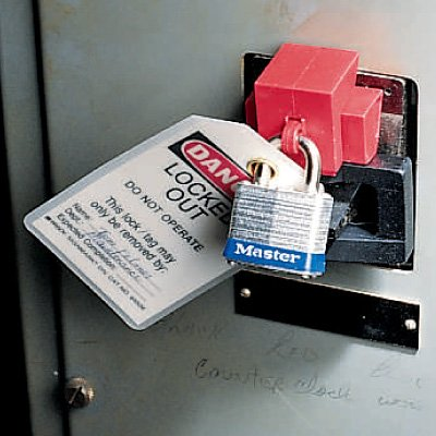 "Oversized Breaker Lockout for Switches up to 2-1/4"" wide by Brady (65329)"