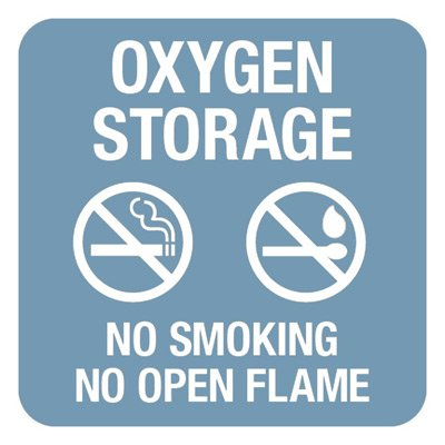 Oxygen Storage - Optima Office Policy Signs