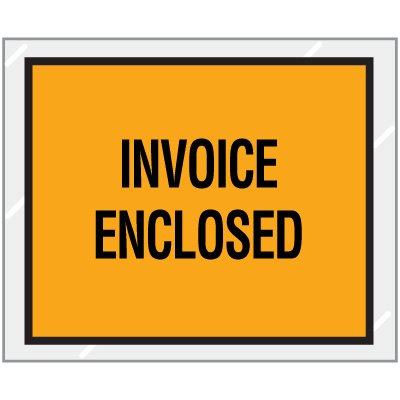 Invoice Enclosed Packing Envelopes