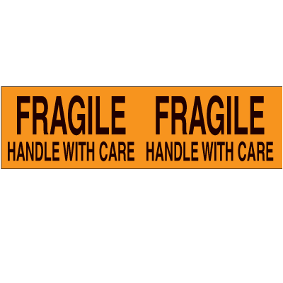 Fragile Handle With Care Pallet Labels