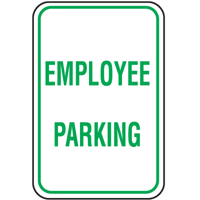 Parking Signs - Employee Parking