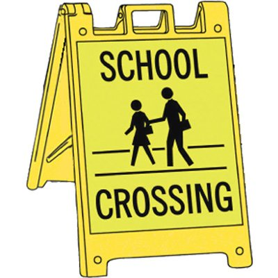 School Crossing Pedestrian Barricade